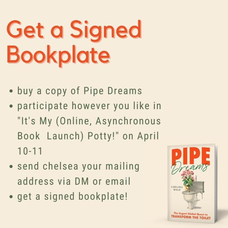 It's My (Online  Asynchronous  Book Launch) Potty! copy